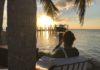 Andrea Berg sendte sol hilsner fra Miami